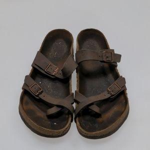 Birkenstock Brown Sandals Size 39